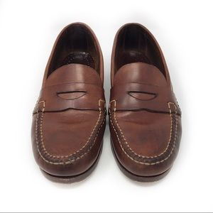 Cole Haan Handsewn Leather Penny Loafers